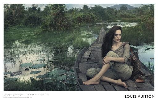 Angelina Jolie Alto Holdall Louis Vuitton