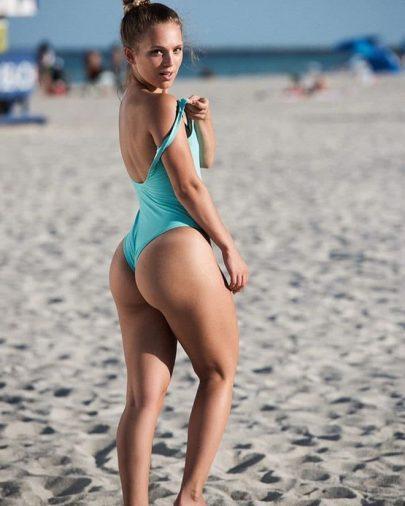 Kira Winona - bạn gái nóng bỏng của David Neres