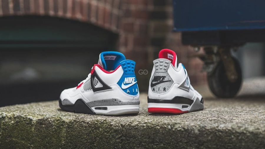 Nike Air Jordan 4 What The