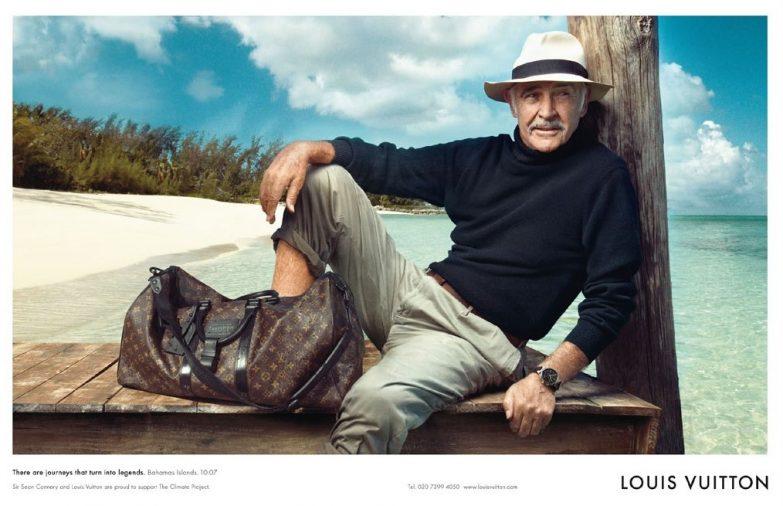 Sean Connery Louis Vuitton