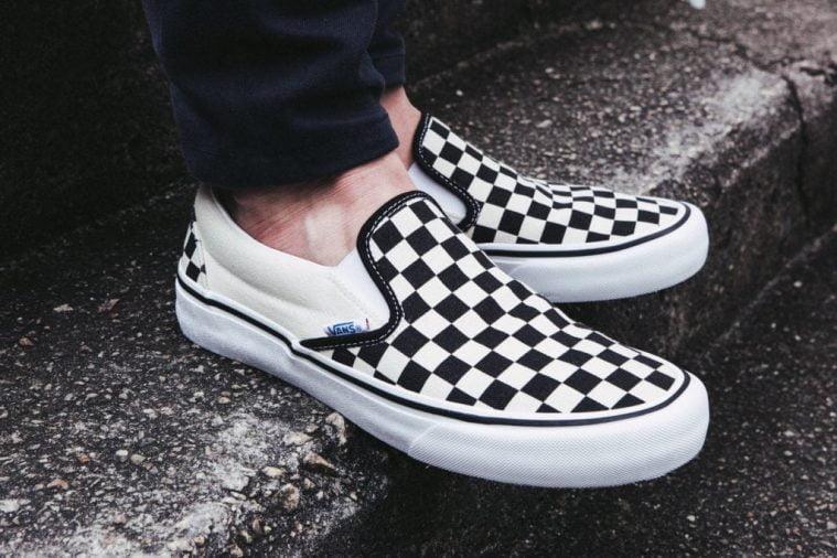 giay sneaker Vans Era Checkerboard
