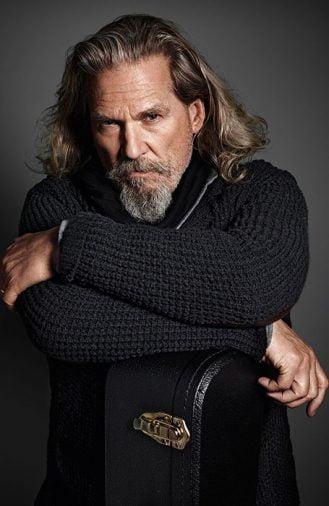 Tóc nam dài đẹp của Jeff Bridges