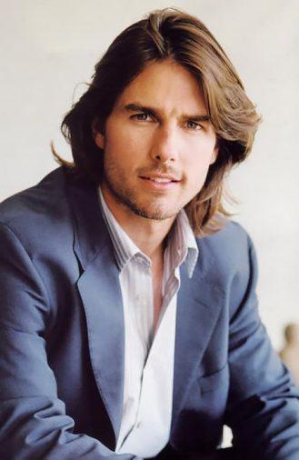 Kiểu tóc nam dài lãng tử của Tom Cruise