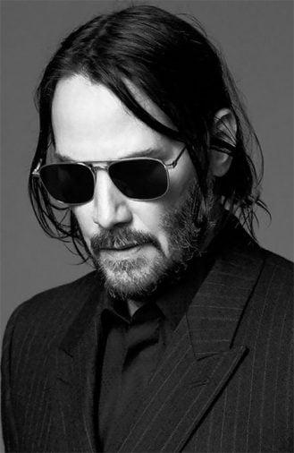 Kiểu tóc dài nam đẹp của ngôi sao Keanu Reeves