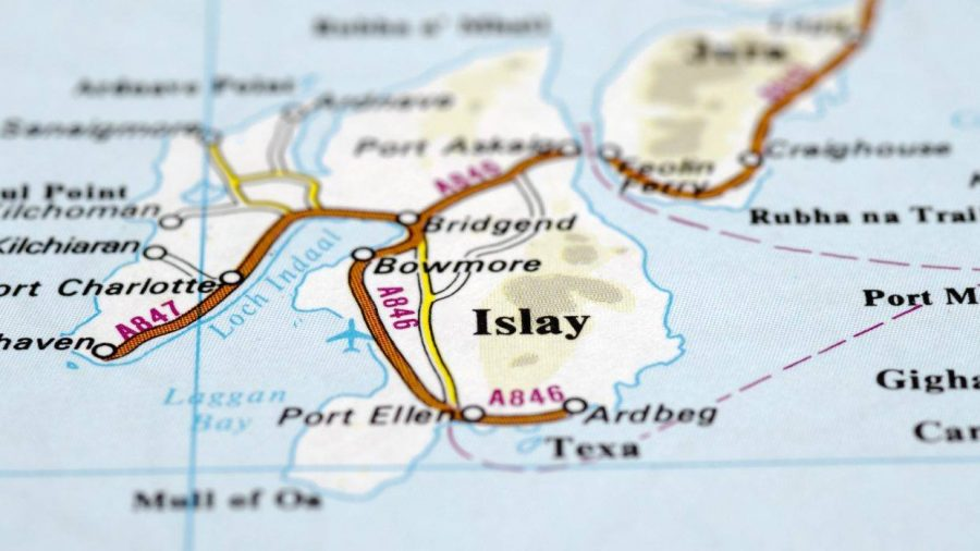 Ardbeg, Port Ellen. Isle of Islay