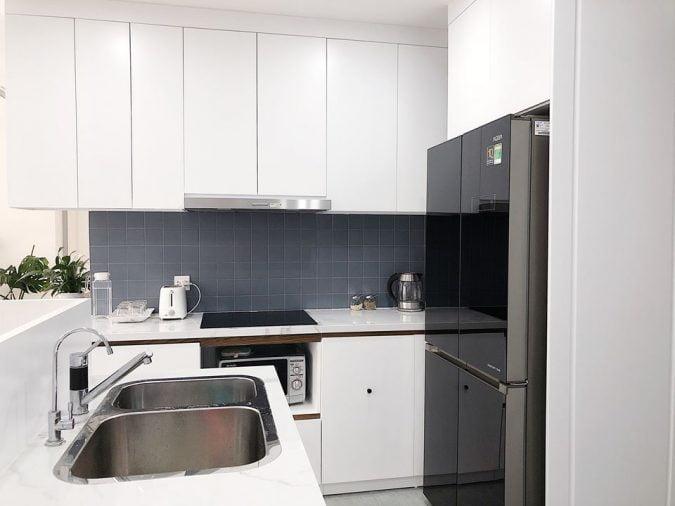 Nội thất căn hộ D'Capitale phong cách Scandinavian (Bắc Âu) kết hợp Minimalist (Tối giản)