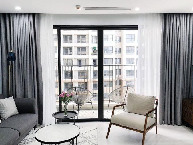 Nội thất căn hộ D'Capitale phong cách Scandinavian (Bắc Âu) kết hợp Minimalist (Tối giản) (17)