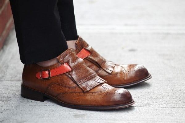 giay Monk-strap