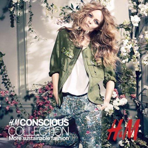 Vanessa Paradis H&M