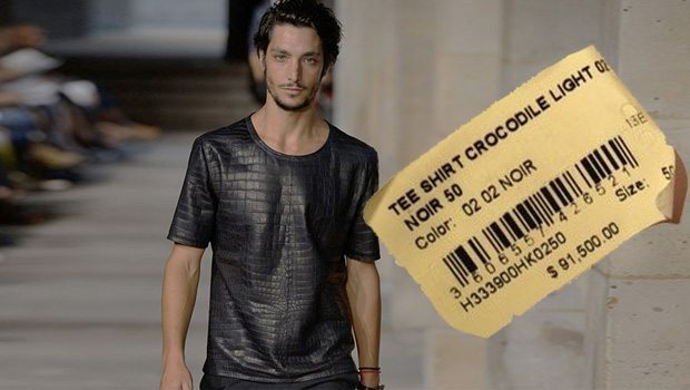 áo thun đắt nhất thế giới Hermes T-Shirt 91500-USD
