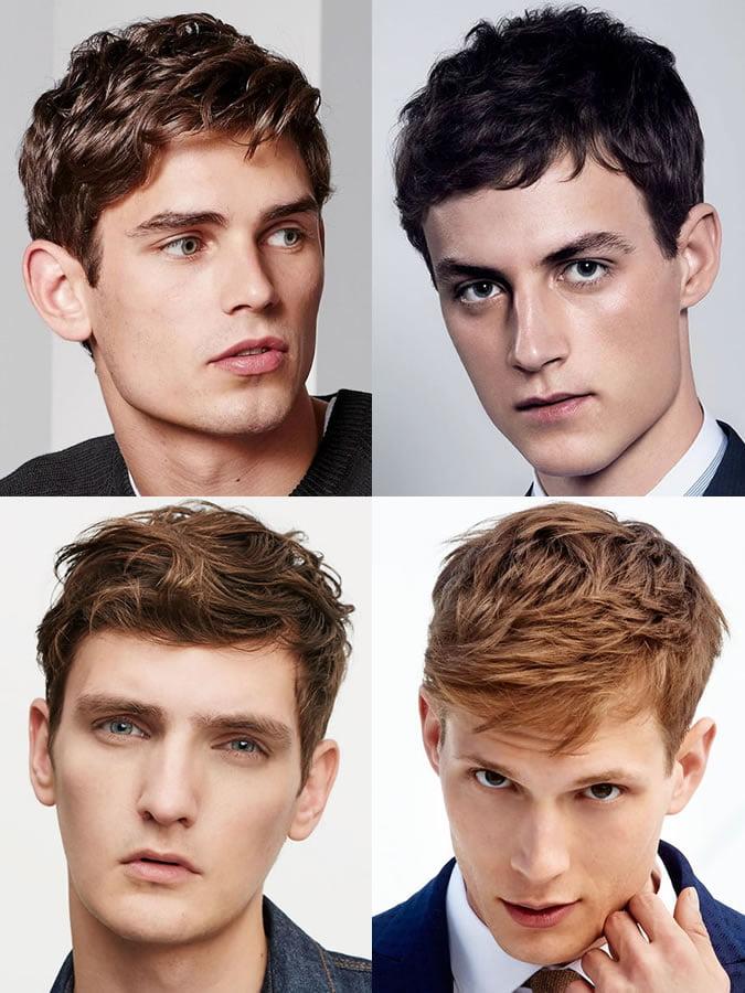Kiểu tóc phù hợp với nam giới mặt hình chữ nhật