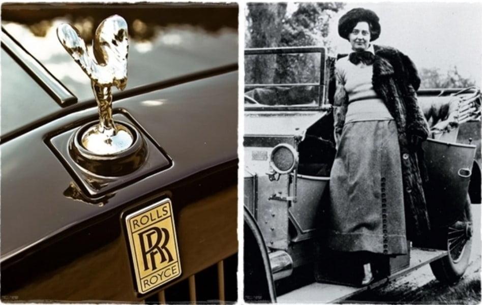 """Bí ẩn ý nghĩa logo """"Spirit of Ecstasy"""" của hãng xe Rolls-Royce đình đám"""