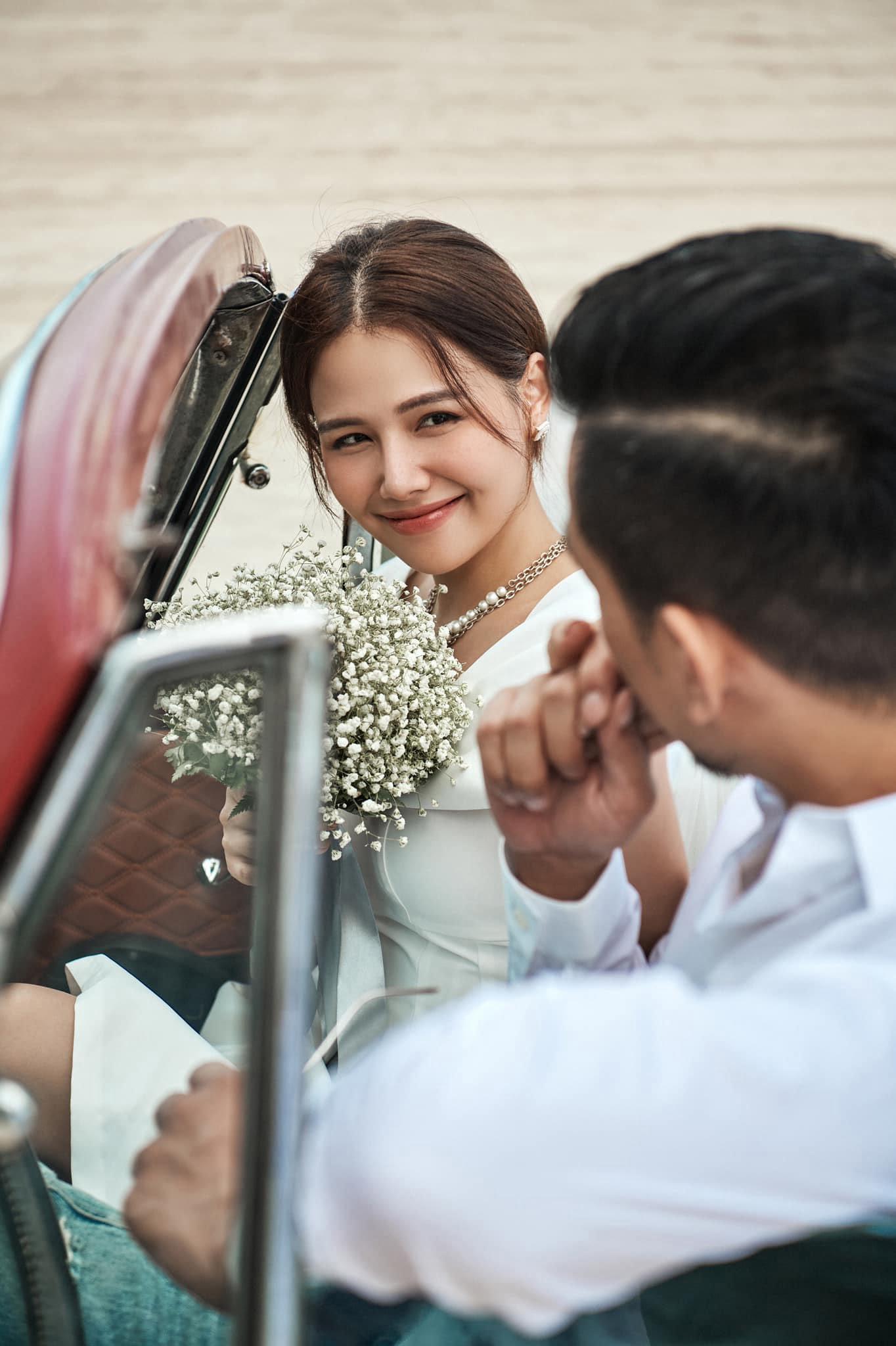Diễn viên Phanh Lee đám cưới