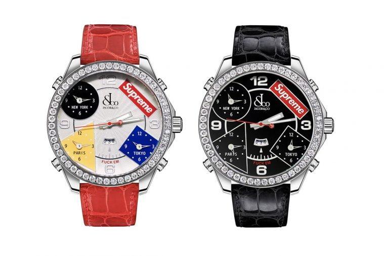 Đồng hồ Supreme x Jacob&Co
