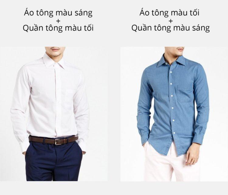 Những nguyên tắc khi phối hợp trang phục nam giới cần phải biết