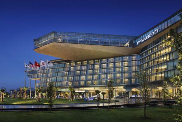 Phòng tổng thống khách sạn JW Marriott Hà Nội