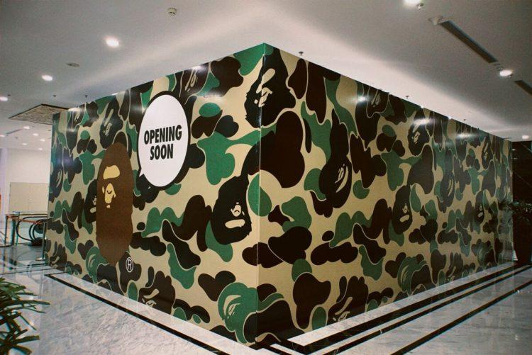 Bape chuẩn bị khai trương Store chính thức tại Việt Nam