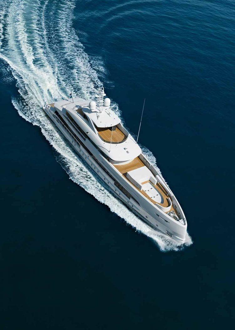 Du thuyền heesen yachts Amare II