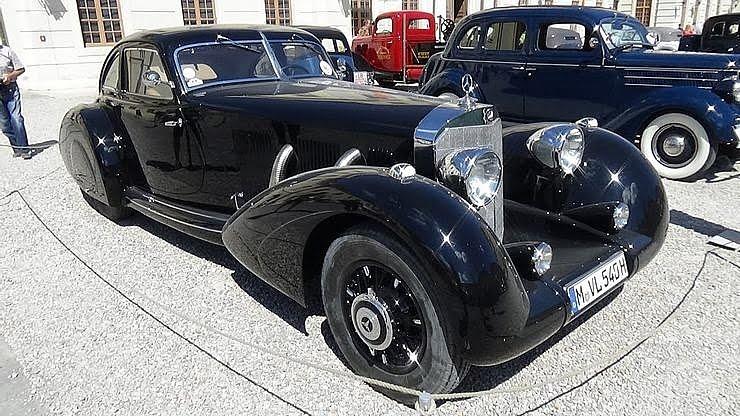 Mercedes-Benz 500K Autobahn Cruiser 1935