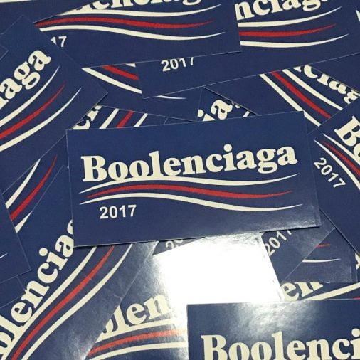 Boolenciaga: cảm hứng Parody hay đạo nhái Balenciaga?