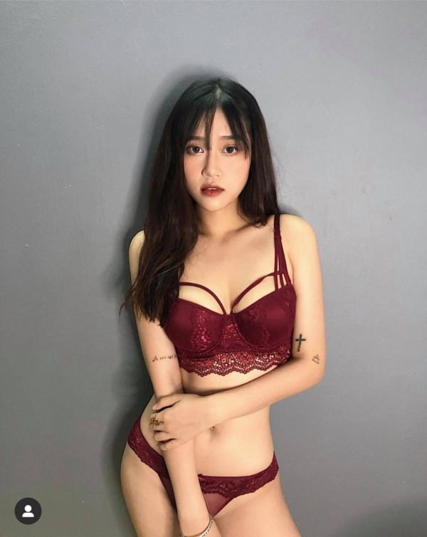 hot girl tran hai ngan