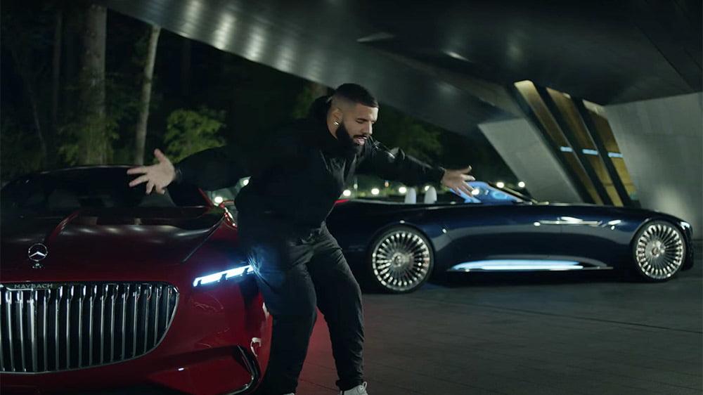 Mercedes-Maybach Convertible 20 feet xuất hiện trong MV của Drake