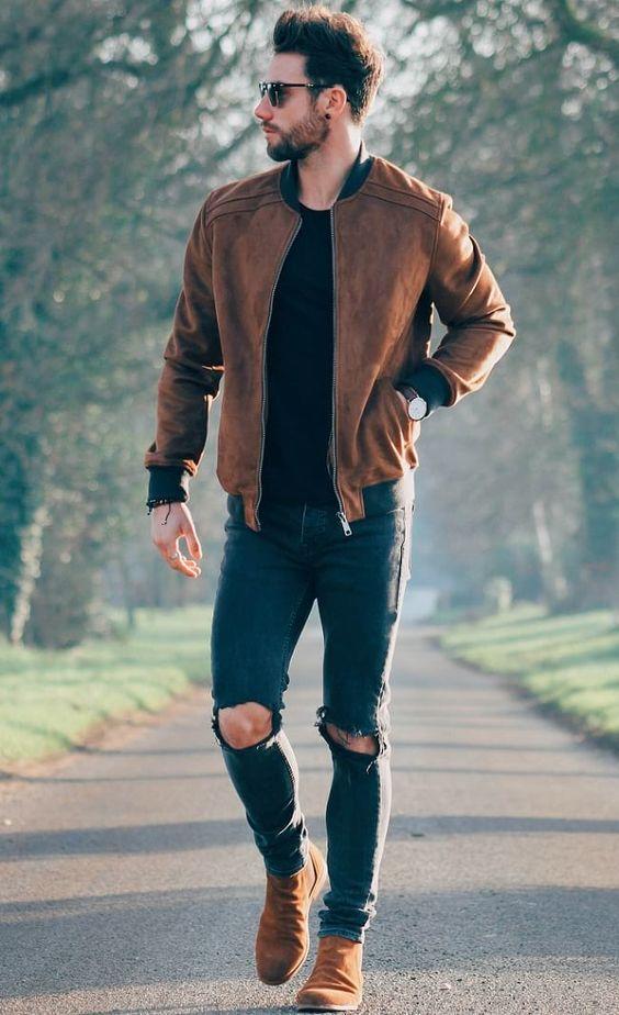 chon giay voi quan jeans