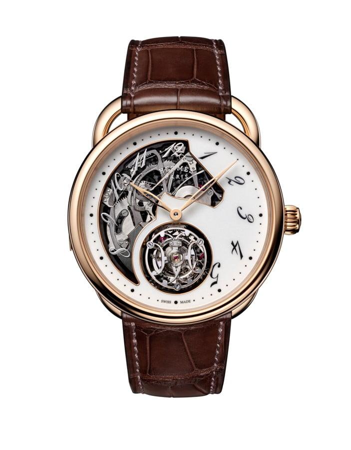 dong ho Hermès Horlogerie Arceau Lift tourbillon répétition minutes