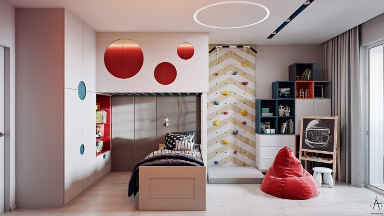 Phòng ngủ đẹp cho bé