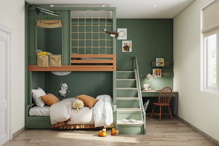 Thiết kế phòng ngủ trẻ em đẹp