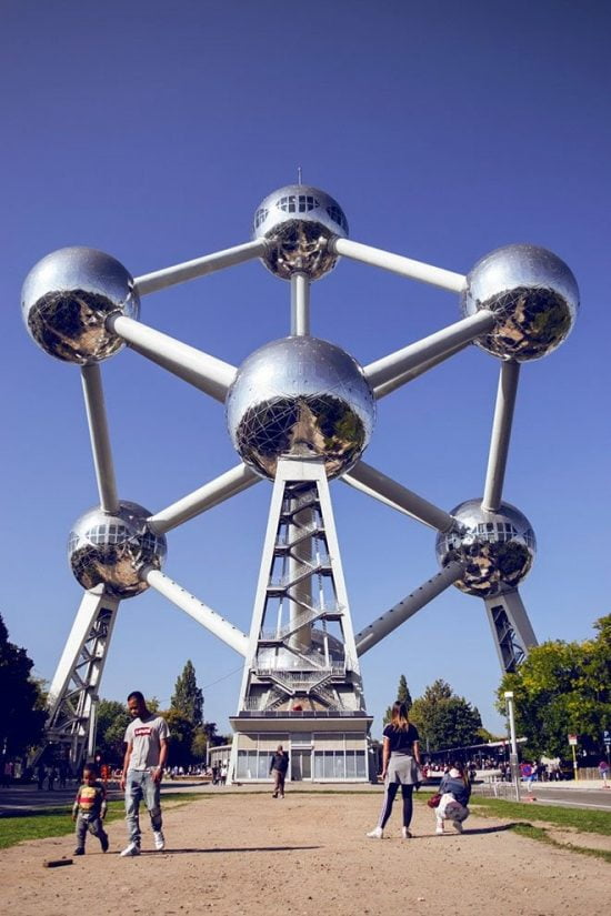 Bảo tàng độc đáo Atomium – Brussels, Bỉ