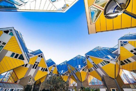 Nhà Cube – Rotterdam, Hà Lan