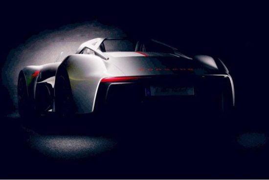 Porsche hé lộ bí mật gợi nhớ tới xe speedster những năm 50s