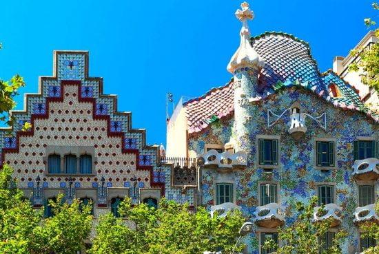 Tòa nhà Casa Batllo – Barcelona, Tây Ban Nha