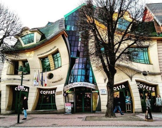 Tòa nhà ảo giác Krzywy Domek – Sopot, Ba Lan