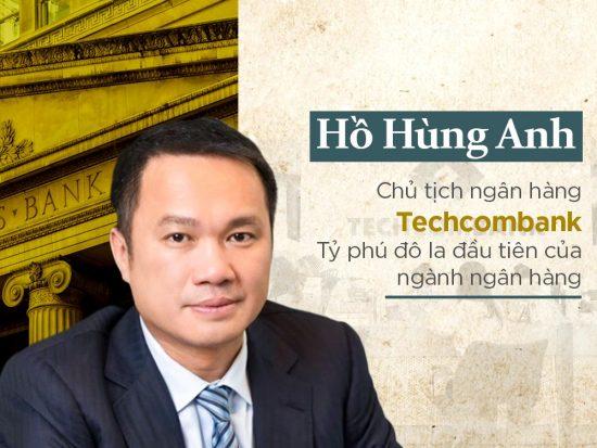 Tiểu sử Hồ Hùng Anh techcombank