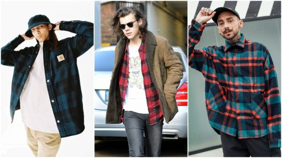 outfit flannel dep