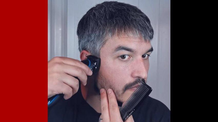 cách tự cắt tóc tại nhà nam