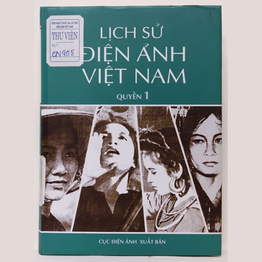 """Sách """"Lịch sử Điện ảnh Việt Nam"""" (2 tập) – Nhiều tác giả"""