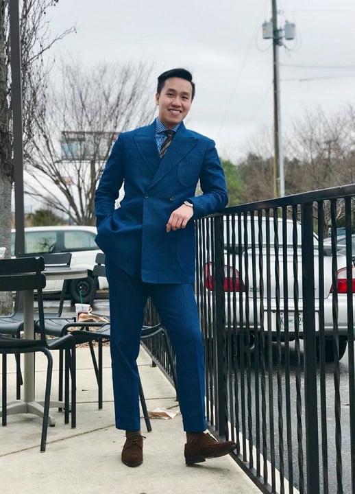 denim suit đẹp