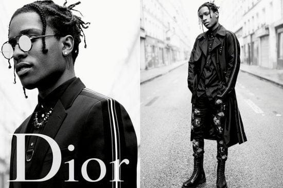 người mẫu A$AP Rocky