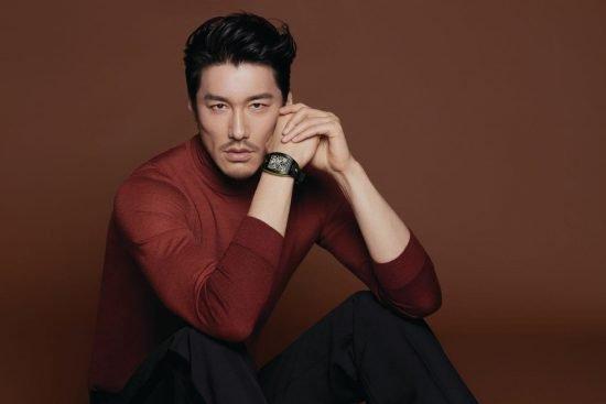 người mẫu Hu Bing