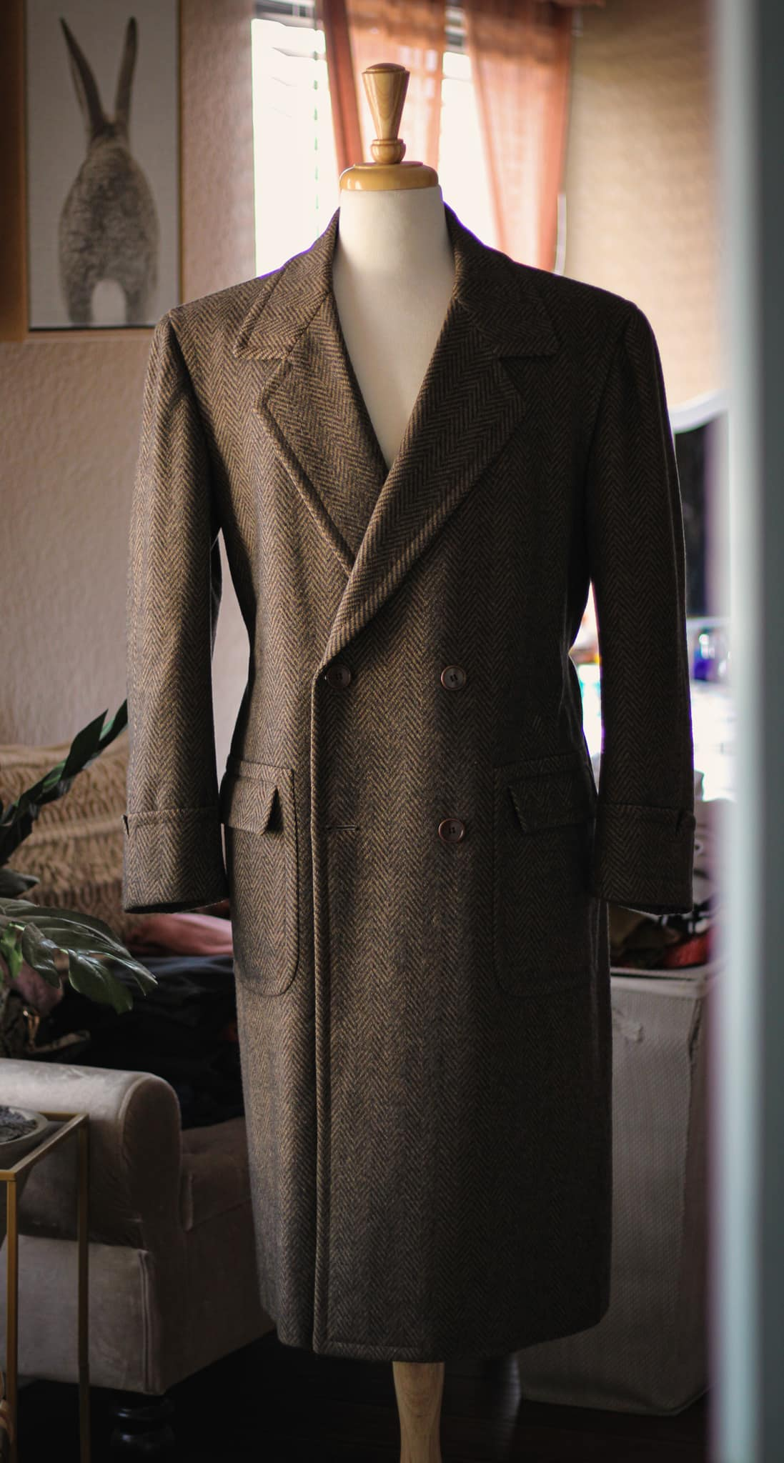 100% virgin wool của Loro Piana