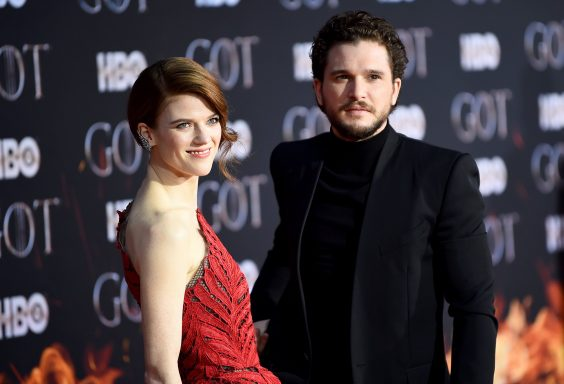 Kit Harington và Rose Leslie