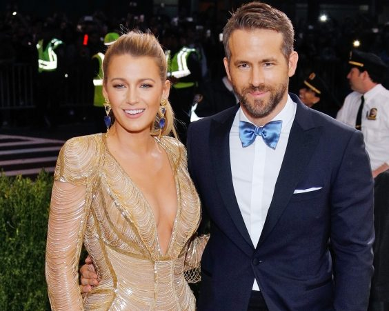 Ryan Reynolds và Blake Lively