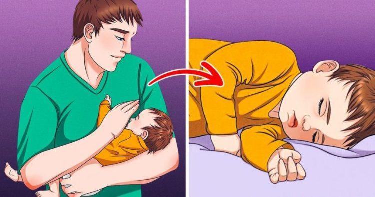 cách dỗ trẻ ngủ nhanh
