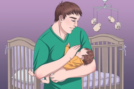 cách ru trẻ sơ sinh ngủ