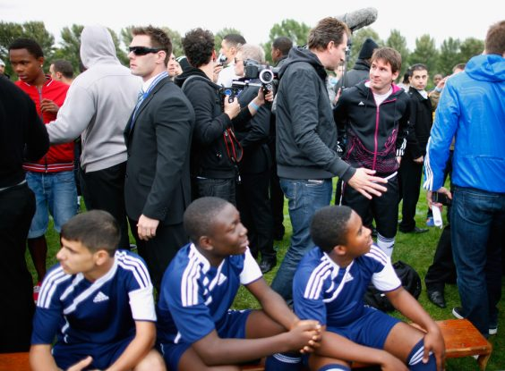 messi Hackney Marshes