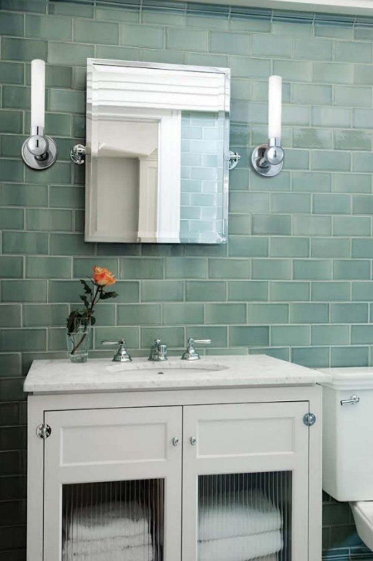 nội thất màu xanh lá
