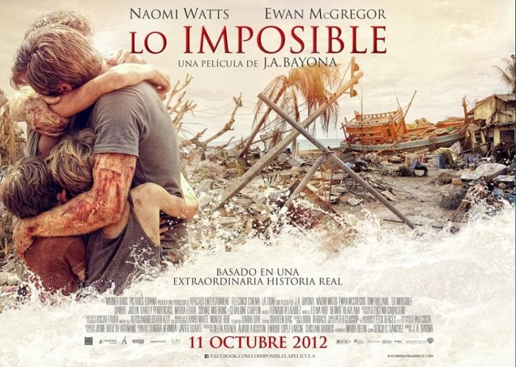 """phim sinh tồn """"The Impossible"""" (2012)"""
